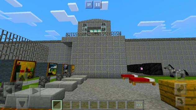 New Prison Life roblox map for MCPE road block 2! screenshot 1