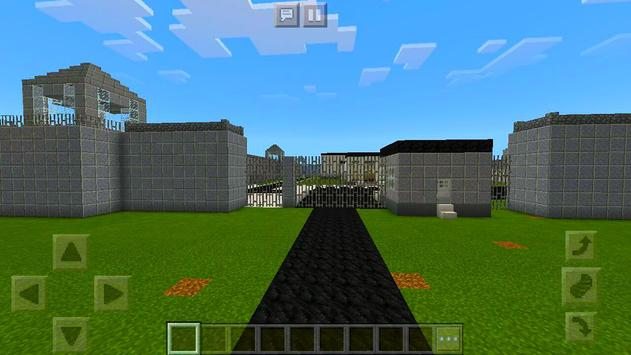 New Prison Life roblox map for MCPE road block 2! screenshot 6