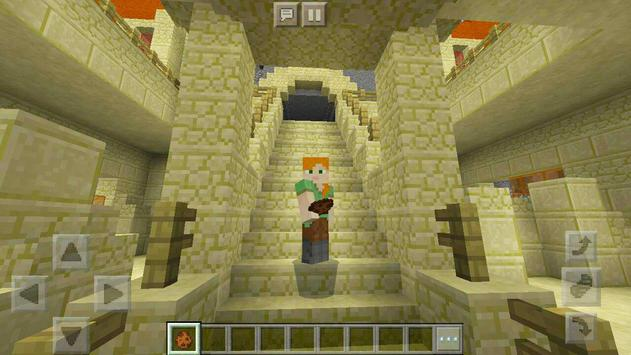 Protect the Flag – multiplayer map for Minecraft! screenshot 4