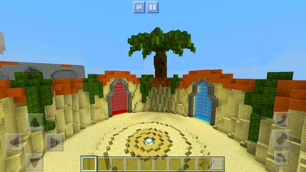 Protect the Flag – multiplayer map for Minecraft! screenshot 5