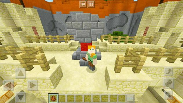 Protect the Flag – multiplayer map for Minecraft! screenshot 6