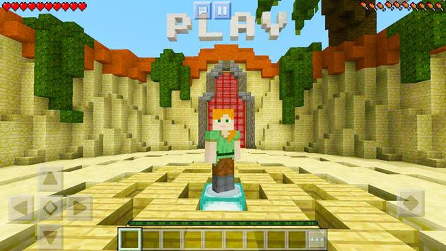 Protect the Flag – multiplayer map for Minecraft! screenshot 8