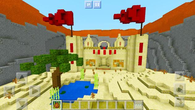 Protect the Flag – multiplayer map for Minecraft! screenshot 1