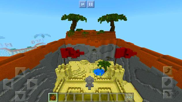 Protect the Flag – multiplayer map for Minecraft! screenshot 3