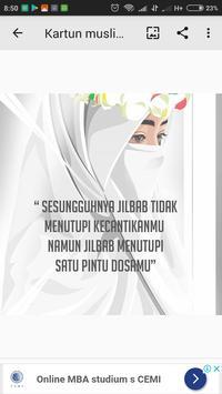 Kartun Muslimah poster