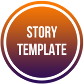 InTemplate : Template Story Sosmed icon