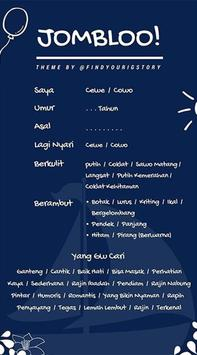 InTemplate : Template Story Sosmed poster