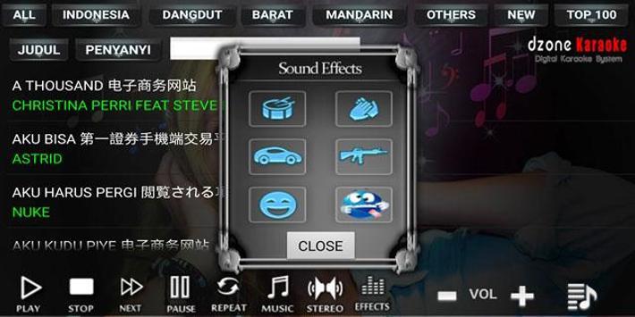 DZONE KARAOKE screenshot 3