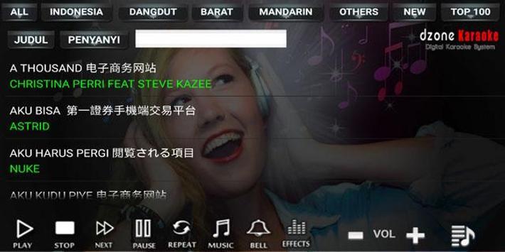 DZONE KARAOKE screenshot 1