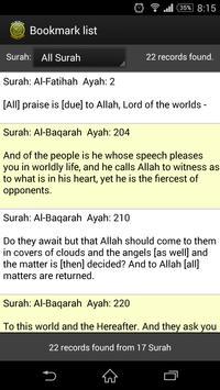 Quran Translation apk screenshot