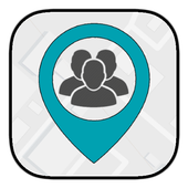 d'Sini Free : Location Sharing w Family & Friends icon
