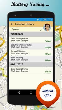 d'Sini Free : Location Sharing w Family & Friends screenshot 3