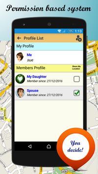d'Sini Free : Location Sharing w Family & Friends screenshot 2