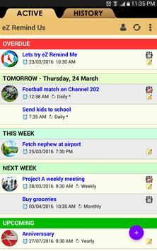 eZ Remind Me apk screenshot