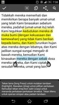 Terjemahan Quran Melayu apk screenshot
