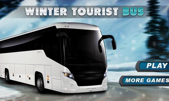 Winter Bus Sim poster