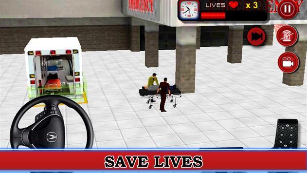 911 Ambulance Rescue apk screenshot