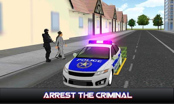 Car Sim : Police poster