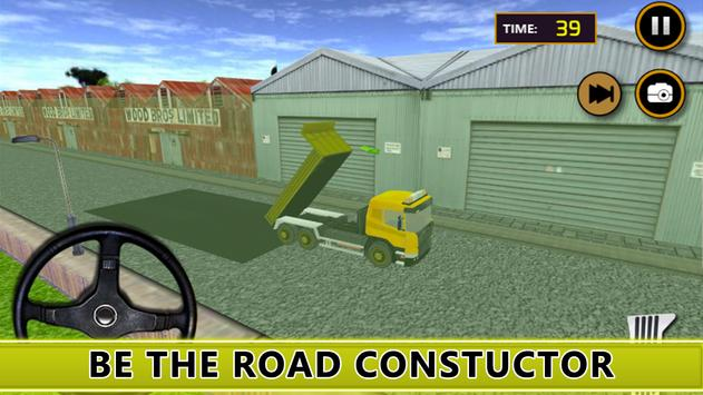 Road Construction : City poster