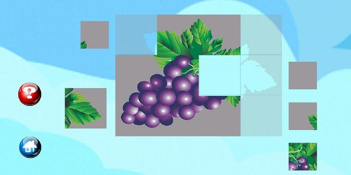 Jigsaw style Puzzle for teaching  for children. screenshot 3