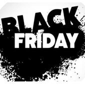 Black Friday 3D icon