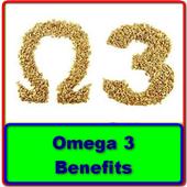 Omega 3 Benefits icon