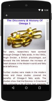Omega 3 Benefits apk screenshot
