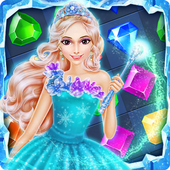 Ice Frozen Jewels Princess icon