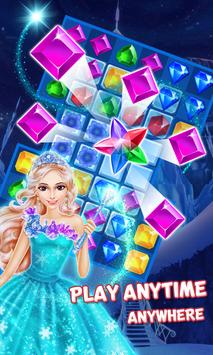 Ice Frozen Jewels Princess screenshot 1