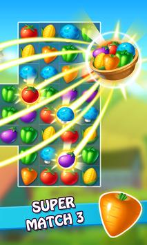 Farm Harvest Match 3 screenshot 1