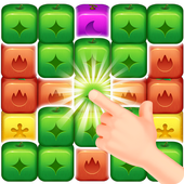 Fruit Block Boom - Puzzle Crush Legend icon