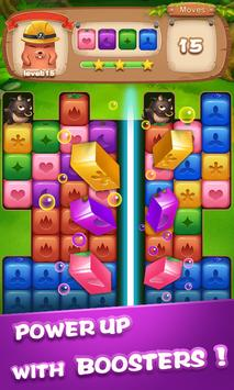 Fruit Block Boom - Puzzle Crush Legend poster