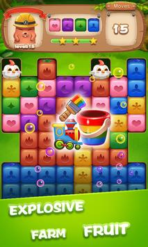 Fruit Block Boom - Puzzle Crush Legend apk screenshot