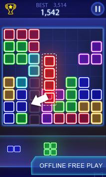 puzzle game glow block puzzle apk download free puzzle game for