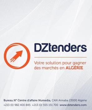 Tenders In Algeria dztenders.com official App poster