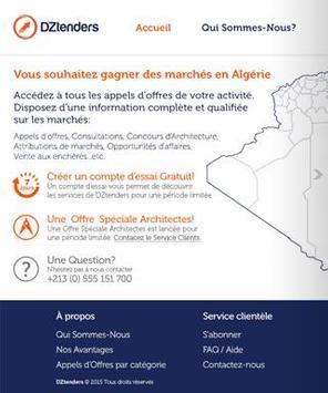Tenders In Algeria dztenders.com official App screenshot 6