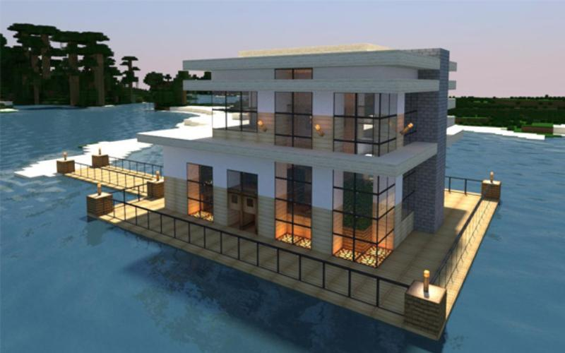 Modern House Building Ideas Minecraft For Android Apk Download