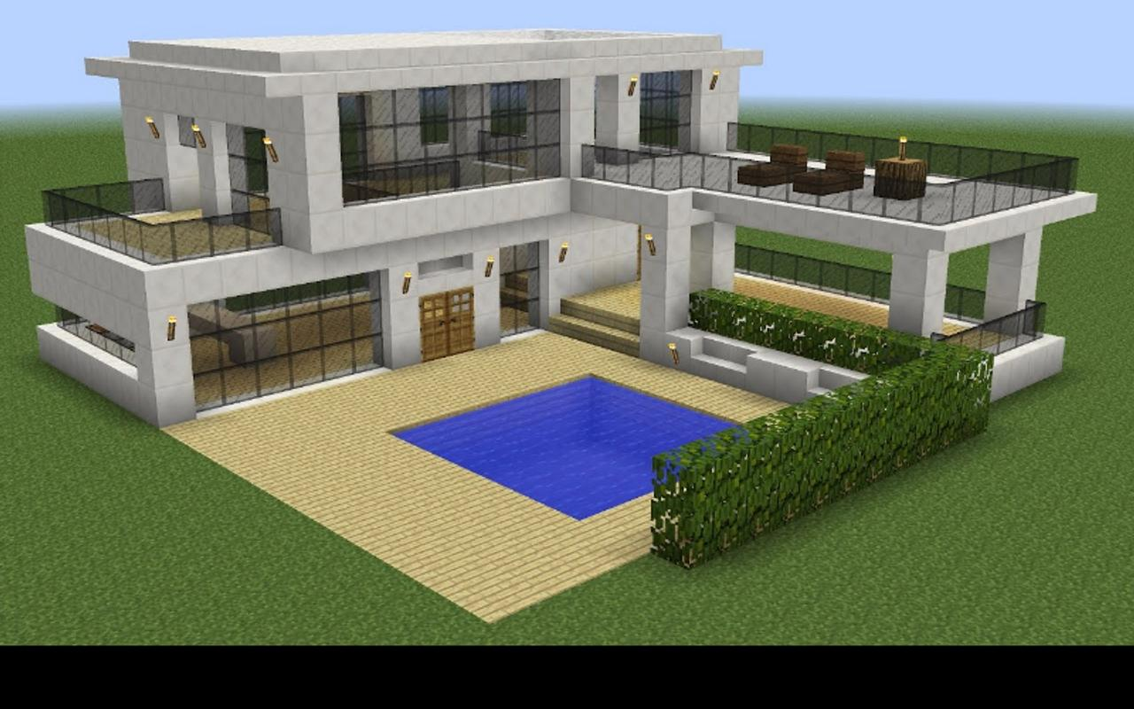 Modern House Building Ideas Minecraft for Android - APK ...
