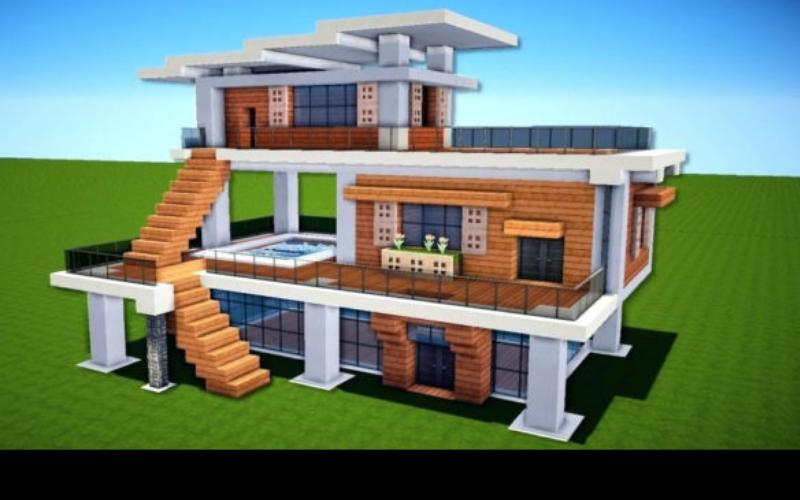 Modern House Building Ideas Minecraft For Android