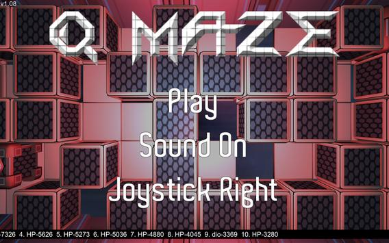 Q-Maze screenshot 1