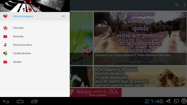 Frases de Desamor apk screenshot