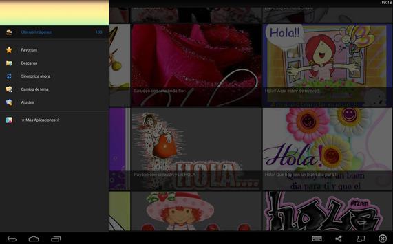 Imagenes de Saludos apk screenshot