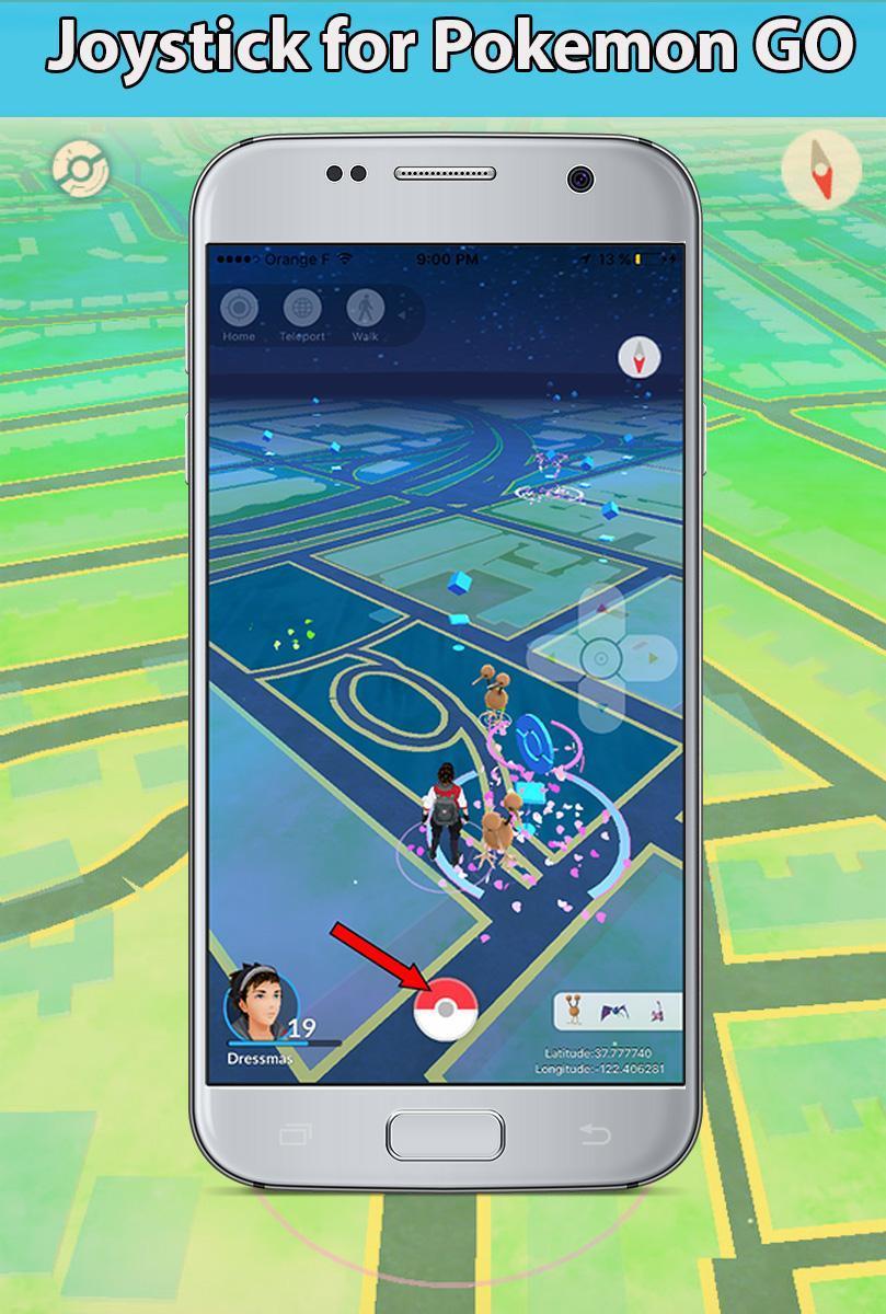 Joystick & Gamepad for Poke Go prank for Android - APK Download