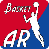 Basket AR (augmented reality) icon