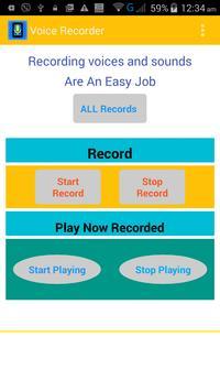 Voice Recorder apk screenshot