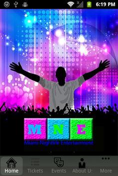 Miami Night Entertainment poster