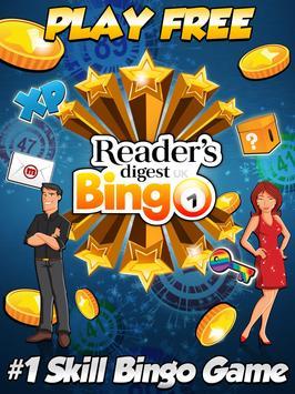 Reader's Digest UK Bingo poster