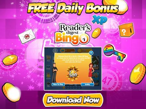 Reader's Digest UK Bingo screenshot 12