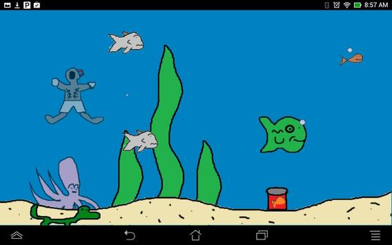 pssh! fish! Interactive Tank screenshot 2