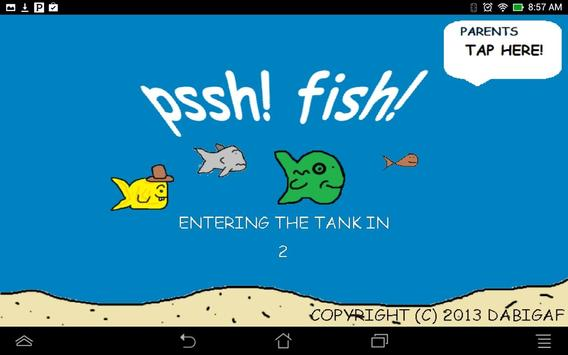 pssh! fish! Interactive Tank screenshot 4